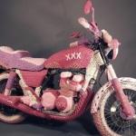 розовый байк