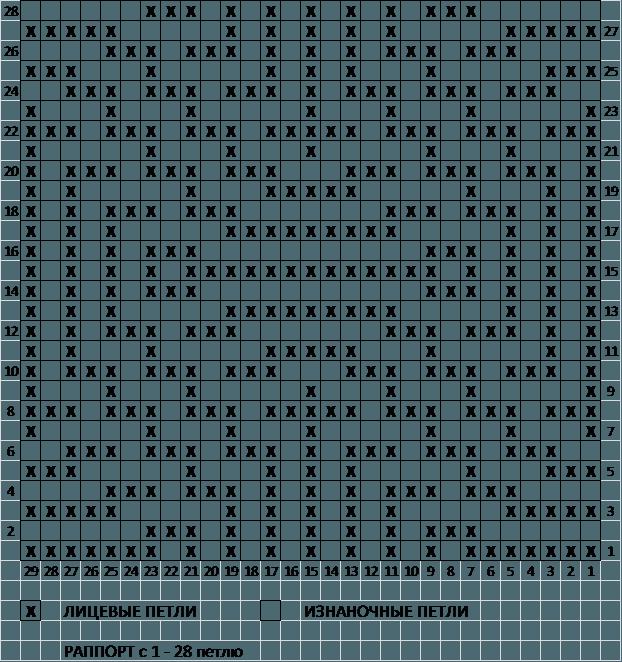Схема горизонтальные ромбы