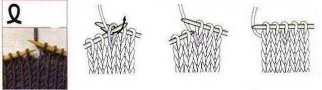 петлю перекрутить и провязать лицевой