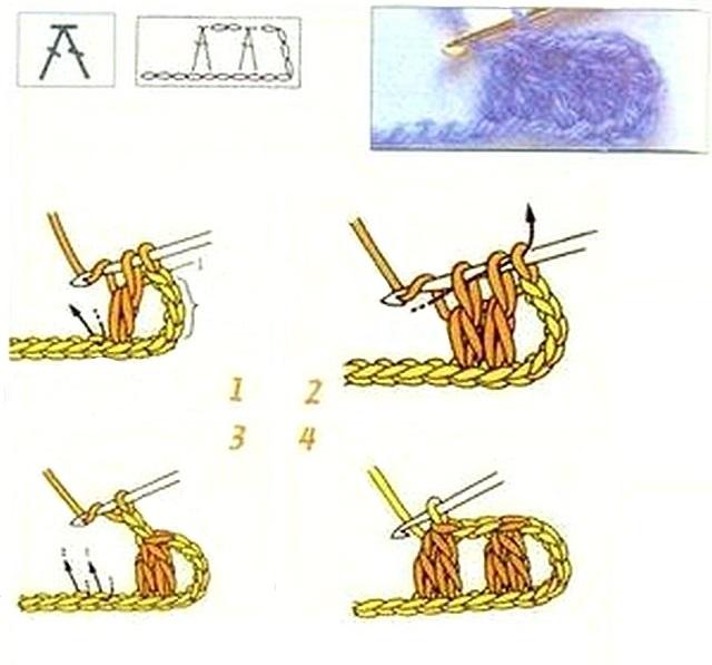 два столбика с накидом вместе