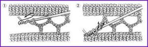 Соединение мотивов крючком 2