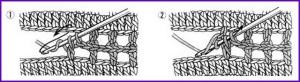 Соединение мотивов крючком 3