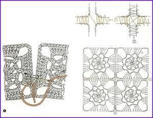 Соединение мотивов способом сшивания 1