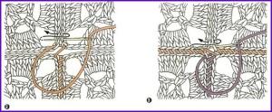 Соединение мотивов способом сшивания 2