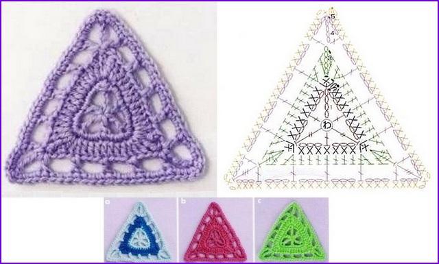 треугольный 10