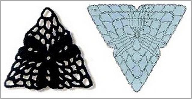 треугольный 12