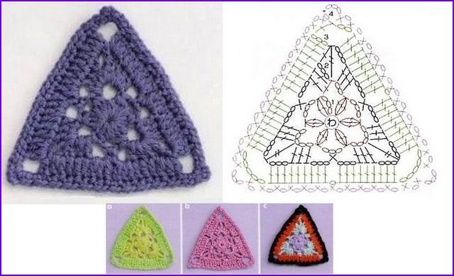 треугольный 8