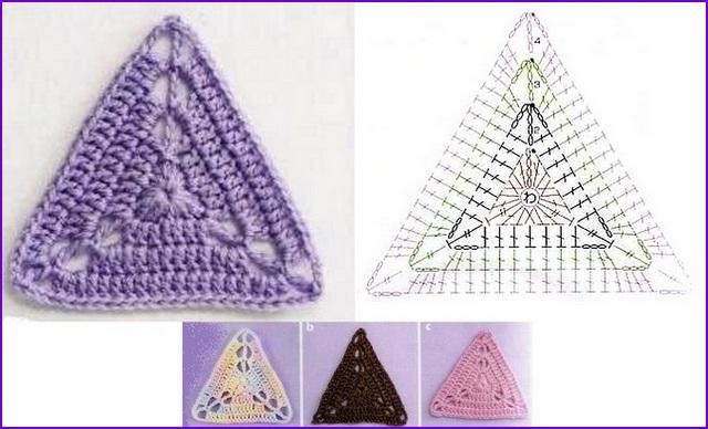 треугольный 9