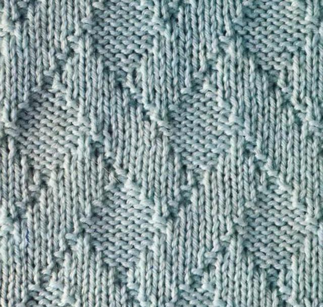узор плетенка