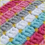разноцветные полоски с крапинками