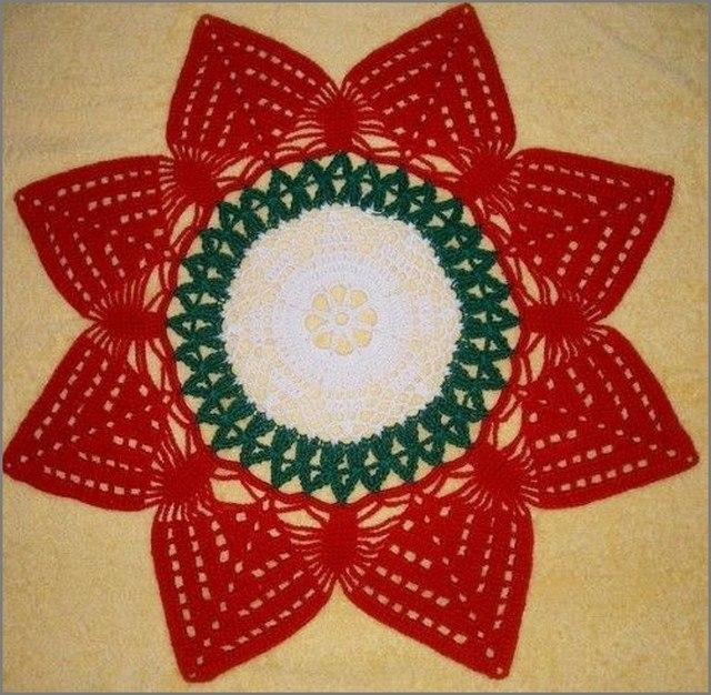 рождественский цветок