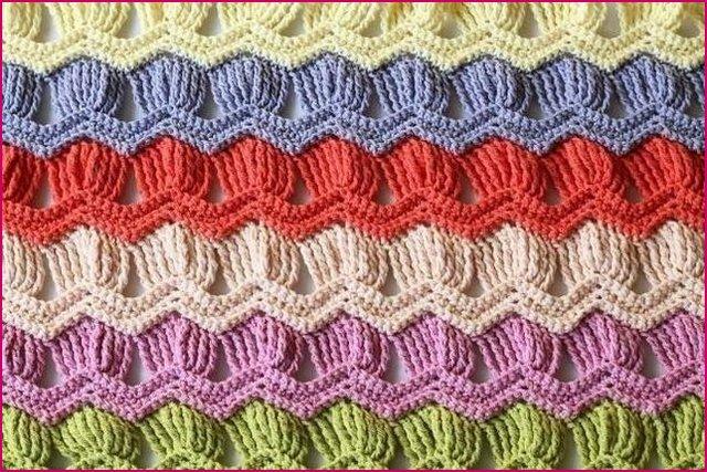 фото узора цветные ракушки
