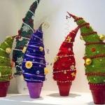 Креативные новогодние ёлочки